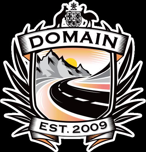 Domain Caravans - large logo